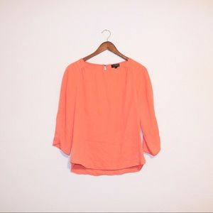 The Limited Coral Blouse